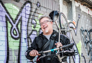 The Last of Dallas' Bike Messengers