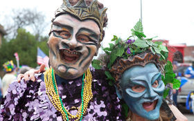Thumbnail for Happy Fat Tuesday: Our Favorite Mardi Gras Partiers of 2015