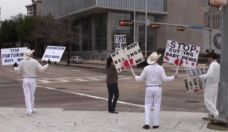 Anti-Circumcision Protesters Evicted From Klyde Warren Park