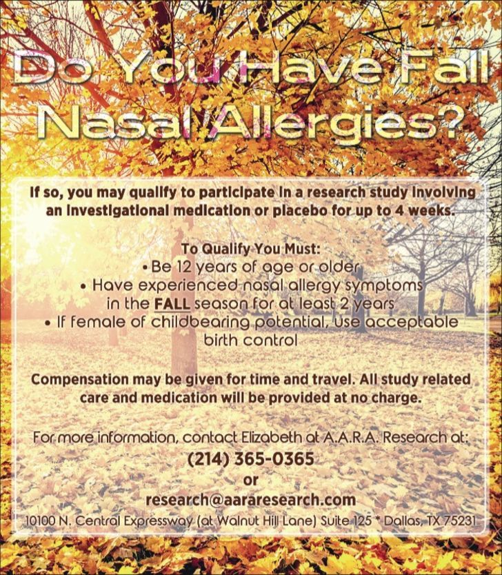Do you suffer from Year Round Allergies?