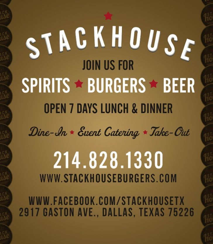 Stackhouse Burgers