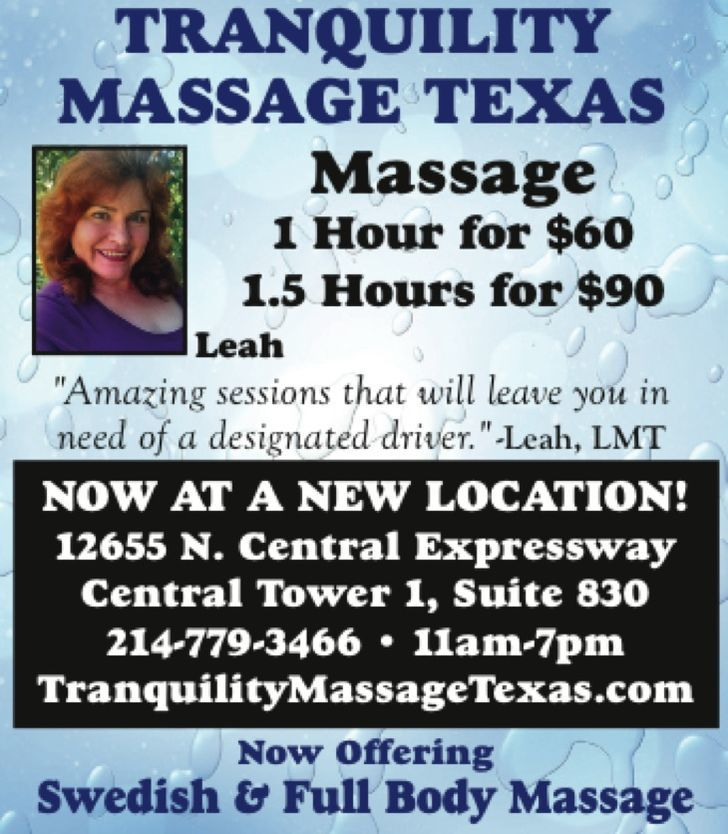 Tranquility Massage Texas