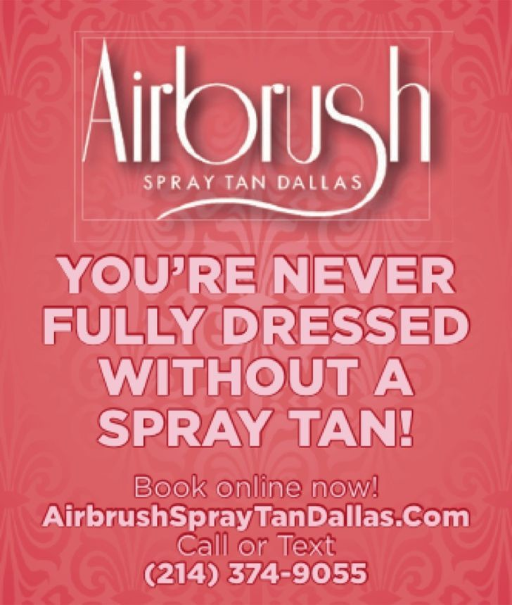Airbrush Spray Tan Dallas
