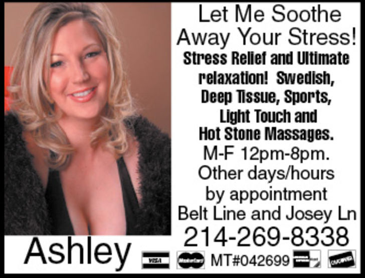 Let Me Soothe Away Your Stress!