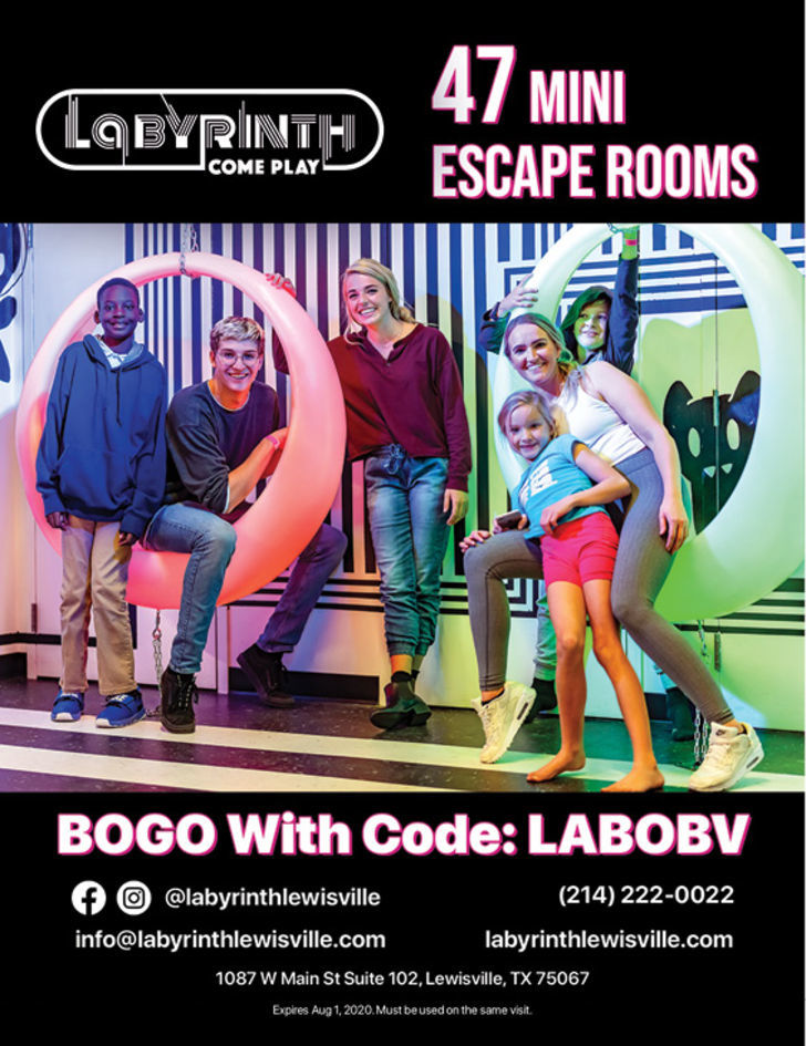 Labyrinth Reality Games | Lewisville Fun