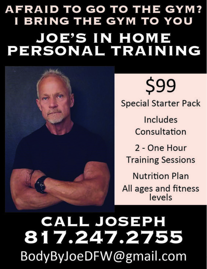 Joe's In Home Personal Training