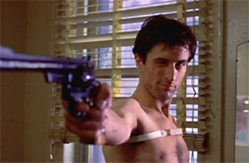 Here's looking at you, kid. A young De Niro in Taxi Driver.