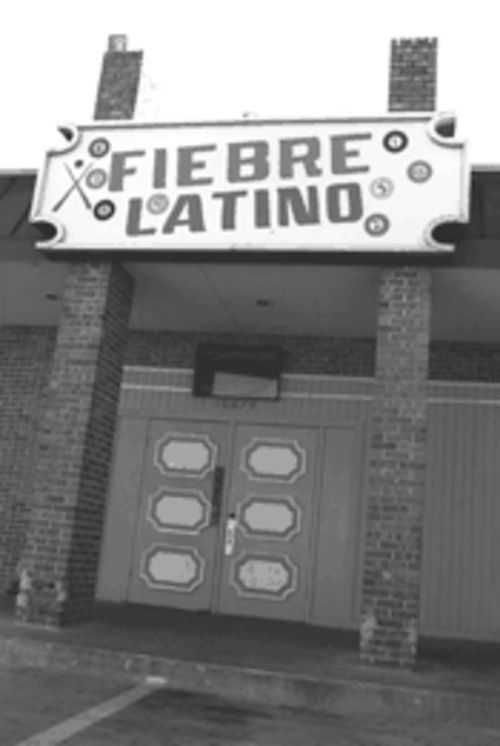 Fiebre Latino, on Harry Hines Boulevard, is a favorite  haunt for mayates.