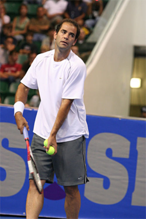 Pete Sampras, once considered the greatest ever, is now gearing up for an exhibition match against Roger Federer.
