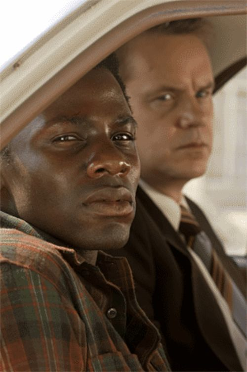 Derek Luke and Tim Robbins in an apartheid movie in which the good guy isn't white