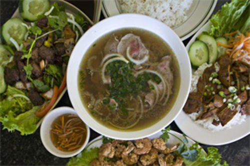 The pho noodles are perfectly cooked—unlike everything else in Pho New Bay's signature dish.