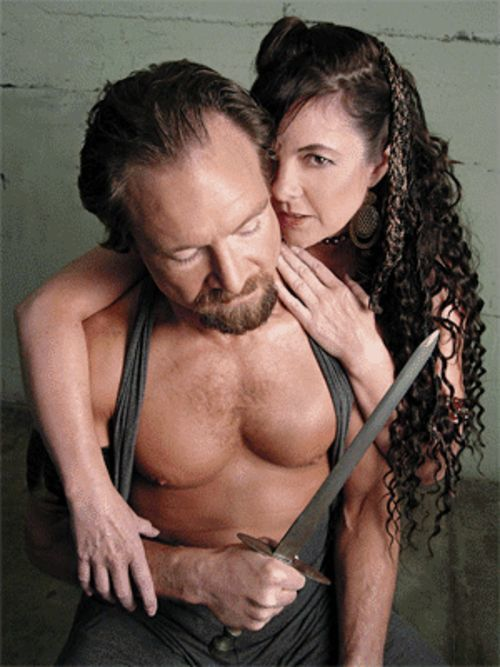 This is one sexy Macbeth, with Steven Pounders  (Macbeth) and Sue Birch (Lady Macbeth).