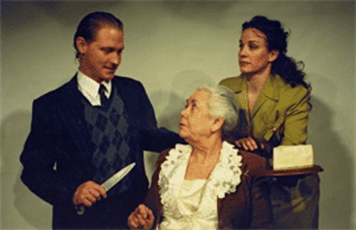 The Mousetrap--with Ashley Wood, Carolyn Wickwire and Laurel Whitsett--is a hunk  of cheese.