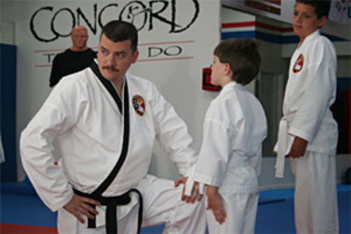 Danny McBride's tae kwon do expert is as irritating as a kick in the head.