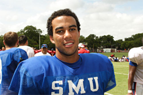 Justin Willis is, by far, SMU's most athletic, most experienced quarterback. But new head coach June Jones has decided to bench Willis for the season opener and maybe longer.