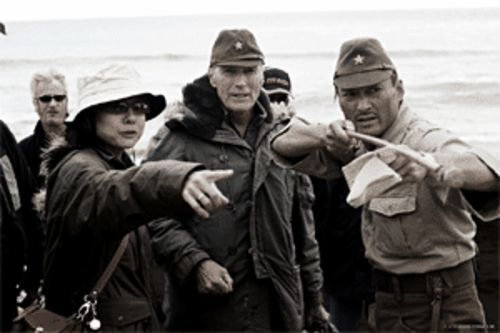 Before directing Letters From Iwo Jima, Clint Eastwood made sure everybody got matching hats. Cute, isn't it?