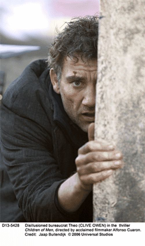 Clive Owen is a man among Children of Men.