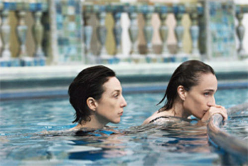 Elsa Zylberstein and Kristin Scott Thomas in a softly inoffensive movie about a murderer.
