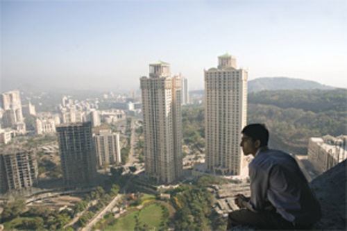 Dev Patel tries to rise to the top in the new Mumbai.