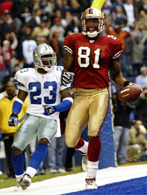 As a Dallas Cowboys cornerback for three seasons, Goodrich's career was a disappointment. On December 8, 2002, in Texas Stadium, Goodrich trailed behind then-San Francisco 49ers wide receiver Terrell Owens as he scored the game-winning touchdown.