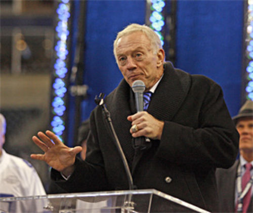 Jerry Jones looked like he was conducting a funeral after the Cowboys' final loss at Texas Stadium.