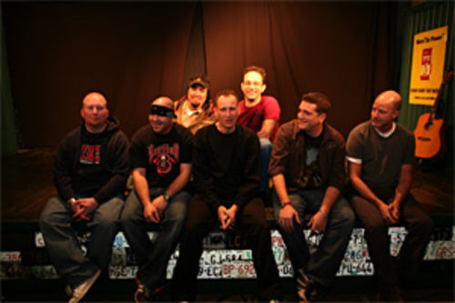 Section 8 Comedy turns 10 this year and performs Tuesdays at Ozona Grill and Bar. Front row from left: Members Casey Green (DJ), Josh Martin, Mark Orvik, Chris Rager, Dave Little, back row from left: Greg Silva, Mike McFarland
