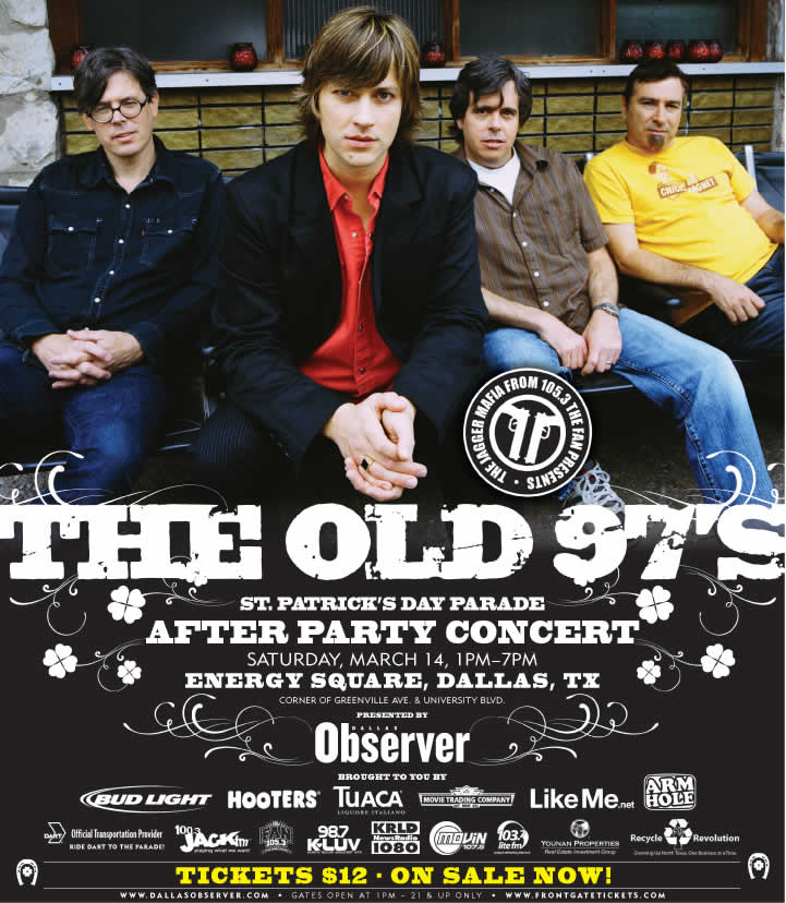 Old 97's on St. Paddy's!