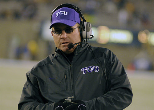 Coach Gary Patterson thinks his TCU Horned Frogs scored enough style points in their 55-28 shellacking of Utah that they should have a shot at the national championship game.
