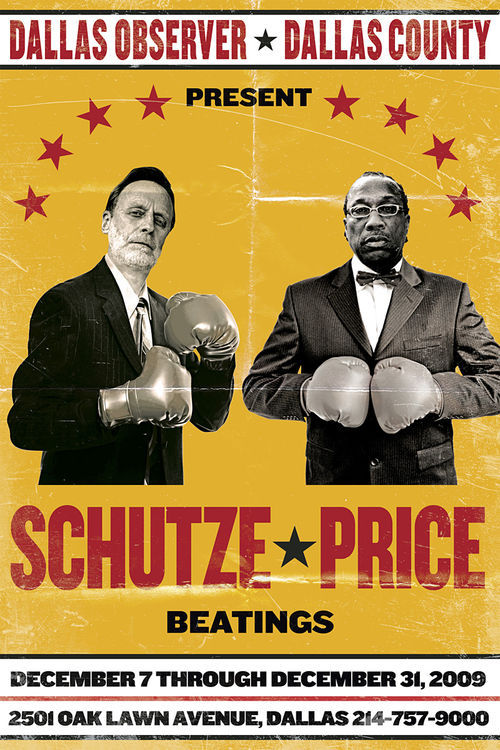 "Schutze vows: ""I am going to whup John Wiley Price's butt."""