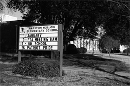 Separate but equal? A judge says that's the system Preston Hollow Elementary created to appease white parents.