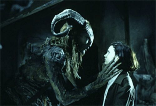 Ivana Baquero meets C.S. Lewis' nightmare in Pan's Labyrinth.