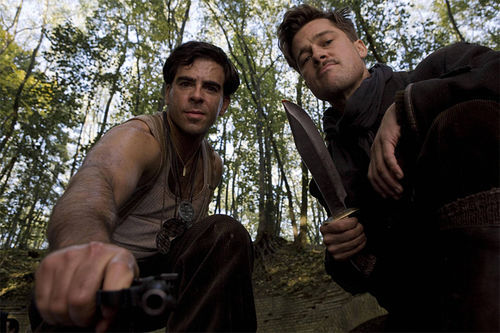 INGLOURIOUS BASTERDS: Branding and scalping are just two of the enhanced interrogation techniques in Quentin Tarantino's World War II action fantasy flick.