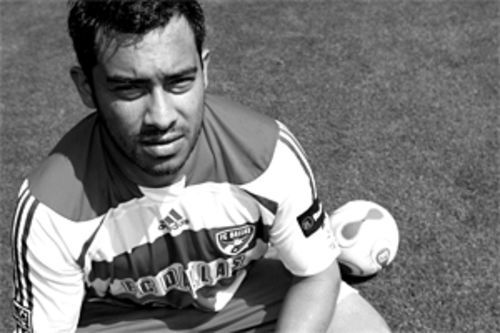 "Carlos Ruiz was dubbed ""El Pescado,"" or ""The Fish,"" at  age 16, his first year as a professional. After he scored a  spectacular goal for his club, CSD Municipal, legendary  team sportscaster Marlon ""Pirulo"" Puente came up with  the nickname. Ruiz's mother once asked friends why  Pirulo chose the name; one responded, ""Because he's so  slippery,"" while another said, ""Didn't they tell you? It's  because his mouth is so fat!"""