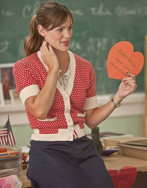 Jennifer Garner has one of the bigger roles in the thinly scripted, albeit star-studded Valentine's Day.
