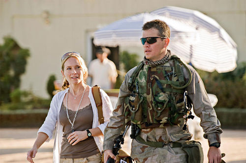 Amy Ryan and Matt Damon in Green Zone.