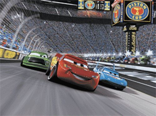 Don't let the picture fool you; Cars is the  slowest-paced offering from Pixar.