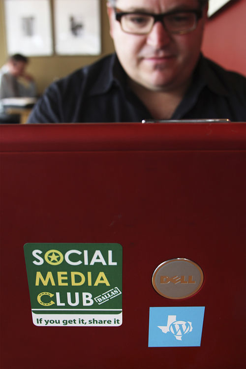 Dallas social media consultant and speaker Mike Merrill has seen Twitter grow from virtual dead space to the place to exchange information about the city's hottest spots.