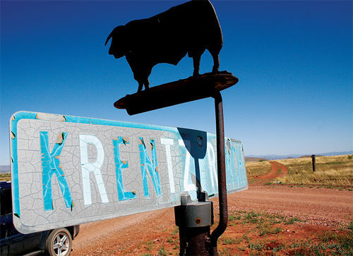 The Krentz family ranch has been in business for more than a century.