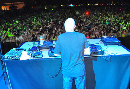A DJ set from Moby helped pack thousands into the Electric Daisy Carnival at Fair Park last weekend.