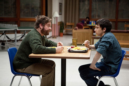 Zach Galifianakis and Keir Gilchrist explore the lighter side of mental institutions.