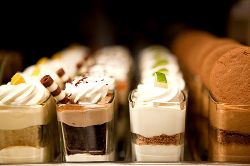 Seasons 52 is praised for its tiny desserts, if nothing else.