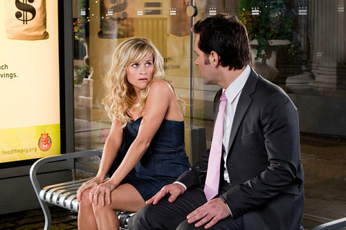 Reese Witherspoon and Paul Rudd struggle through the perils of 21st century relationships.