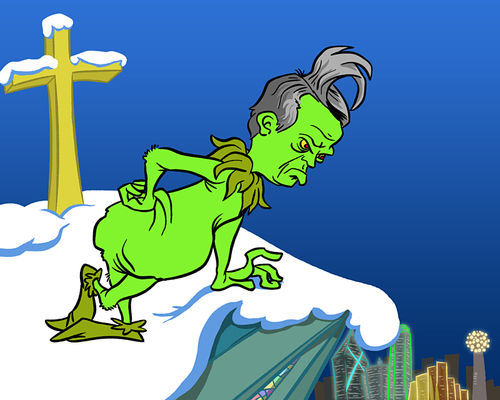 Pastor Jeffress Grinch
