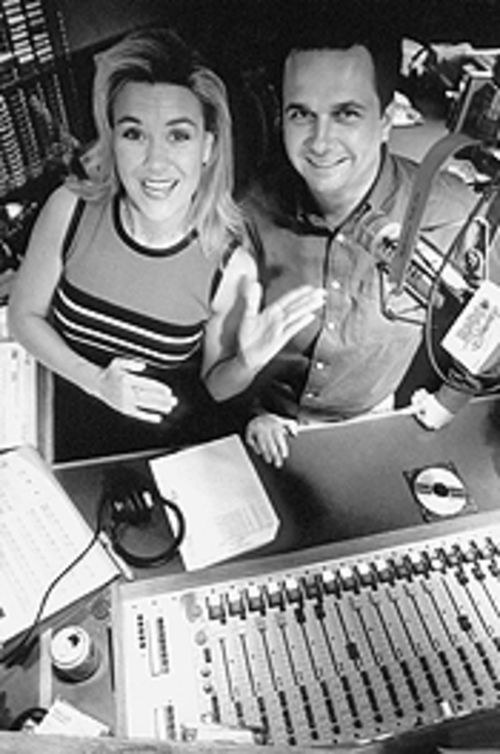 Kim Stewart and Dean Wendt, morning disc jockeys at Radio Disney, never say they're in Dallas.