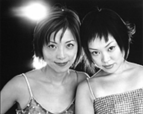 Getting out the welcome matto: Yuka Honda and Miho Hatori tear the roof off the sucka.