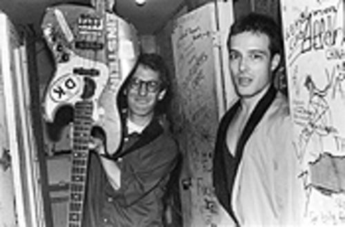 East Bay Ray and Jello Biafra, long before lawsuits and royalty payments came between them