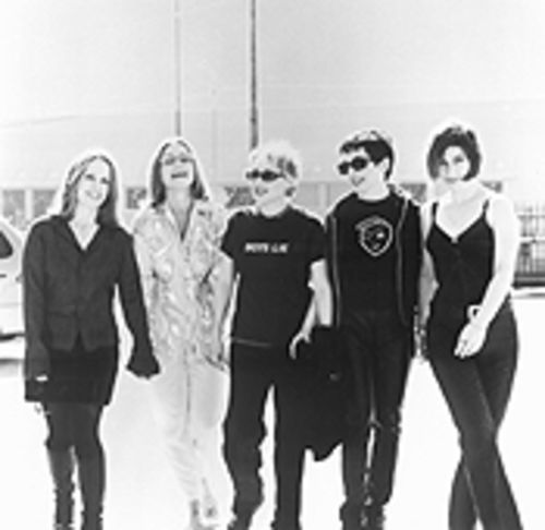 The whole world hasn't lost its head, just the Go-Go's. From left, Charlotte Caffey, Belinda Carlisle, Gina Schock, Jane Wiedlin, and Kathy Valentine