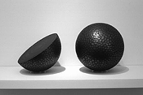 High art or decoration? Considering the innovative way they're made, Fridge's spheres sidestep any definition.