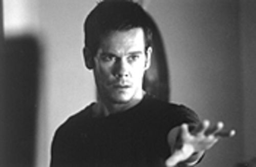 Bacon's bit: Kevin Bacon stars in Stir of Echoes, his 349th film.