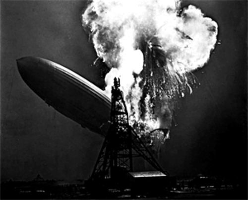 Why are we printing a photo of the Hindenburg with a story about the Dallas County Democratic Party? Oh, no reason really.
